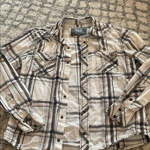 BKE athletic fit medium button down